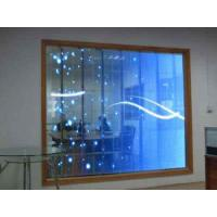 Best Durable Transparent Glass LED Display / Glass Wall Led Display Energy Saving wholesale