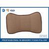 Best Washable Travel Memory Foam Car Neck Pillow / Car Seat Neck Rest Pillow wholesale