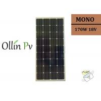 China Grade A / B Monocrystalline Silicon Solar Cells 170w Solar Panels India on sale