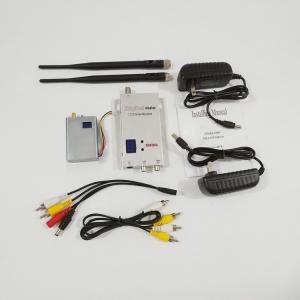 Cheap 1.2G Long Range Wireless Video Transmitter 3-5km LOS Range A/V Transmission for sale