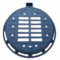 China Round gully grate 750x600x100, heavy gully grate EN124 D400, sewage cover for sale