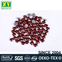 Best Tiny Flat Hotfix Glass Rhinestones High Color Accuracy With Even Facets wholesale