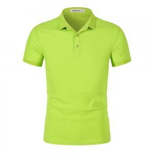 Best Custom logo Short Sleeve Polo T-Shirt For Men Blank Polo Shirt Golf Anti-Pilling Polyester wholesale