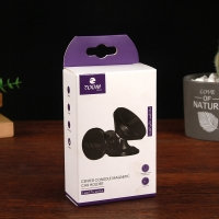 China Earphone Packaging Box With Clear Window for sale