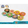 Best 600pcs Poker Chips Set  In Aluminum Silver Case Can Be Uv &Logo Custom Design wholesale