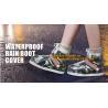 PVC VAMP, PVC SOLE, PVC SHOES, PVC BOOTS,WATERPROOF RAIN BOOT COVER,reusable shoe rain cover ,waterproof safety rain boo for sale