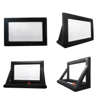 Best Outdoor Inflatable Movie Screen Removable Portable Air Projector Screen wholesale