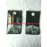 Best custom made printed plastic cigar packaging bag / cigar humidor bag with slid zip lock wholesale