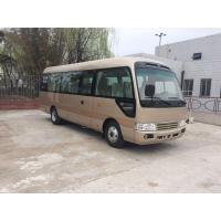 Cheap 2160 mm Width Coaster Minibus 24 Seater City Sightseeing Bus Commercial Vehicles for sale