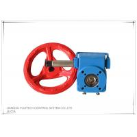 Best Blue Square Hole Valve Wheel Handle / Cast Iron Valve Handle With Special Grease wholesale