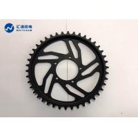 Best Black Anodized Bicycle Gear Parts ±0.01mm High Yield Strength Wear Resistant wholesale