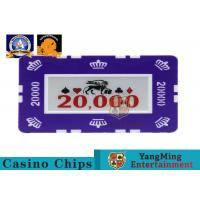 Best 760 PCS Custom Printed Clay Plastic Poker Chips Gift Set in Silver Aluminium Case wholesale