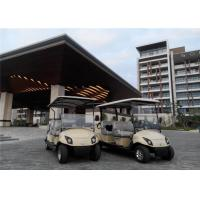 Fashion Battery Operated 4 Seater Golf Carts With 4 Wheel Drive