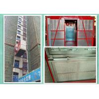 Best Twin Cages Rack And Pinion Elevator , Multifunctional Material Hoisting Equipment wholesale