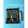 Best Custom LOGO fashion cigarette zipper lock moisturizing fresh plastic bag with transparent windows wholesale
