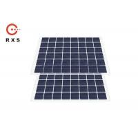 Buy cheap Monocrystalline 230W BIPV Solar Panels Bifacial Laminated Glass Sound Insulation from wholesalers