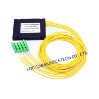 Buy cheap SC APC Connector optical Wavelength Division Multiplexer Low Insertion Loss from wholesalers