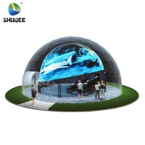 Best Curved Screen 360 Dome Theater With 4DM Electric Motion Seats For Museum,Theme Park,Theater wholesale