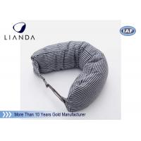 Quality Car Accessories Gray Neck Travel Pillow , Memory Foam Head Pillow With Different Color wholesale
