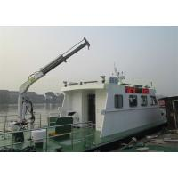 Best Hydraulic Marine Davit Crane 0.98T 5M Telescopic Boom Overload Protection wholesale