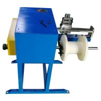 China Aluminum Alloy Steel Wire Winding Machine Wire Take Up Machine With Belt Brake on sale