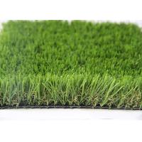 Best 35MM Natural Looking Outdoor Artificial Grass For Gardens , Outdoor Synthetic Turf wholesale