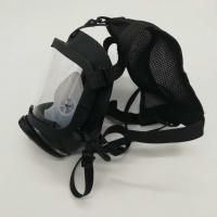 Buy cheap Respirator Full Face Mask For Breathing Apparatus Sillcone PC Lens For Fire from wholesalers