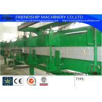 China High Press Color Steel PU Sandwich Panel Production Line on sale