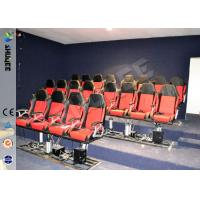 Best Eletronic / Pneumatic 3DOF Motion Theater Chair With Wood Frame Carton wholesale
