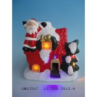 Best Lighted Porcelain Ceramic Christmas Village Houses For Family Decoration wholesale