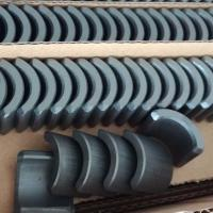 Best Arc Shape Ferrite Permanent Hard Magnet For Industrial Micro Motors wholesale