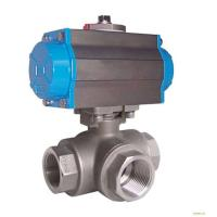 Best Silver Actuated Pneumatic Ball Valve Fire Protection Design With Thread wholesale