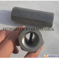 Best OEM Formwork Tie Rod System , Steel Hex Nuts Stop Pin For Threadbar Connection wholesale