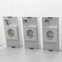 Buy cheap Galvanized Aluminum HEPA Fan Filter Unit 1175x575mm For Clean Booth from wholesalers