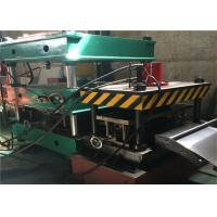 Best Warehouse Storage Rack Roll Forming Machine , 21.5kw Roll Former Machine Cr12 Roller wholesale