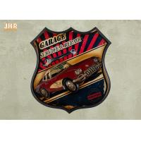 Best Resin Car Wall Decor Wooden Wall Plaques Antique Wood Frame Pub Sign Wall Decor wholesale