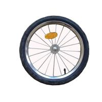 Buy cheap 16 inch pneumatic tires, rustproof rim, hub, spokes and axle Bike Trailer from wholesalers