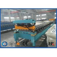 China Sturdy Construction Roof Roll Forming Machinery Automatically 12KW 10.5T on sale