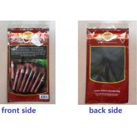 Best LDPE Laminated 6 Colors Prinitng Red moisturizing fresh cigar bag wholesale