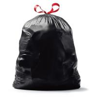 Biodegradable Plastic Eco Garbage Bags HDPE Material High Durability for sale