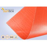 Best Silicone Coated Bulk Fiberglass Cloth Roll Resistant High Temperature Up To 1000 C Degree wholesale