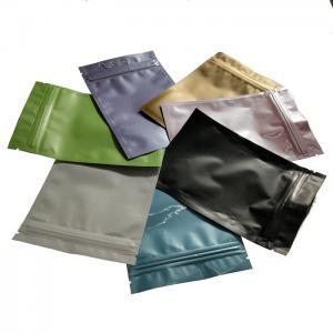 China Hot sale custom glossy printed aluminum foil zip lock plastic bag on sale