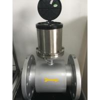 Stainless Steel Beverage Sanitary Flow Meter With 4-20Ma / Pulse Output