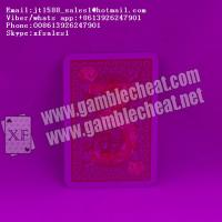 Best XF Modiano golden trophy marked cards with invisible ink for poker cheating wholesale