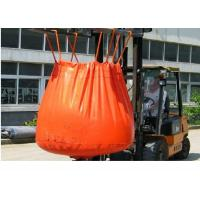Best Waterproof Orange PVC Recycled Jumbo Bag Storing Hazardous And Corrosive Products wholesale