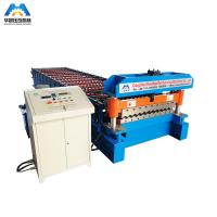 Buy cheap Corrugated Panel Roll Forming Machine 1000mm Coils from wholesalers