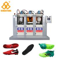 3 Stations 6 injectors TPU Football Sole Making Machine 70-100 Pairs Per Hour for sale