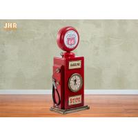 Best Red Multimedia Storage Rack Decorative Wooden Cabinet Wood Tabletop Clock Red Color wholesale