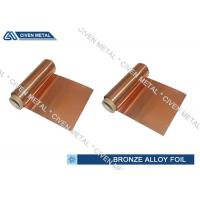 Best ISO Standard Phosphor Bronze Foil / Alloy Foils with protective Surface coatings wholesale
