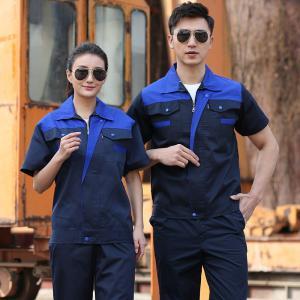 Best Short Sleeve OEM Construction Worker Uniform Customized Logo wholesale
